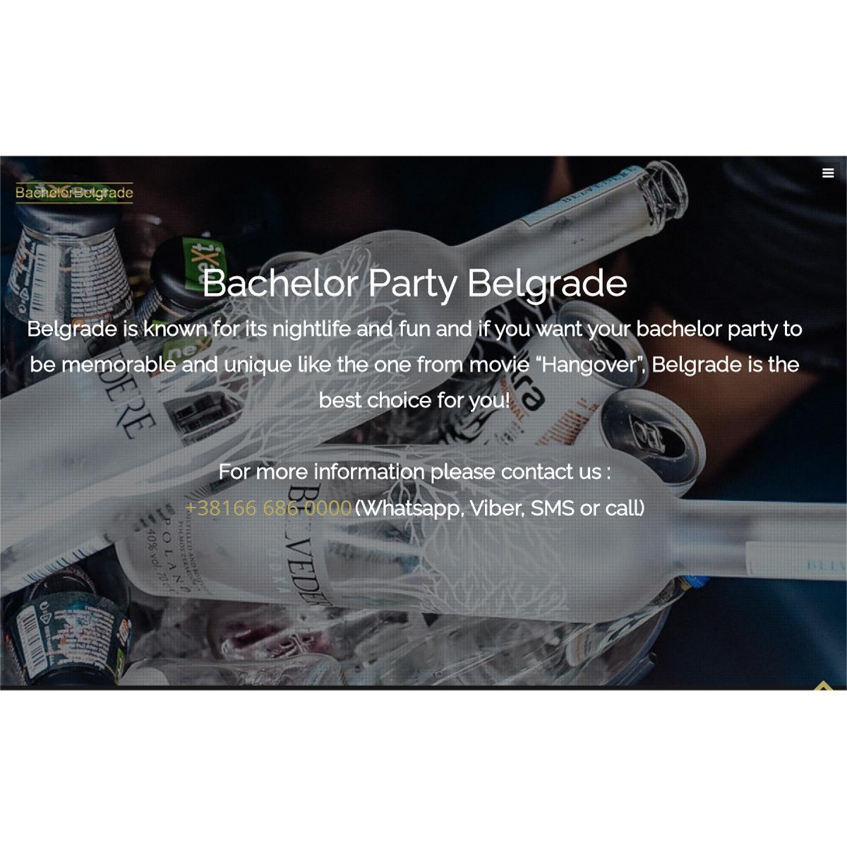 Bachelor Belgrade